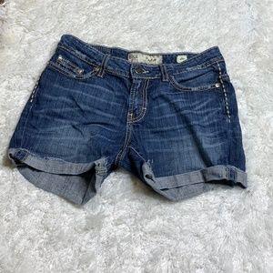 BKE Payton Jean Shorts Sz 26 BUCKLE
